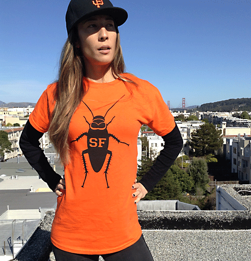 San Francisco Giants Cockroaches T-shirt